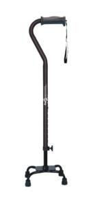 Best Walking Canes for Seniors - Hugo Adjustable Quad Cane for Left or Right Hand Use