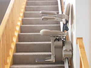 Best Stairlifts - Elite Straight by Bruno