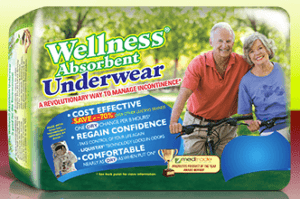 Top Incontinence Product - Unique Wellness Absorbent Underwear